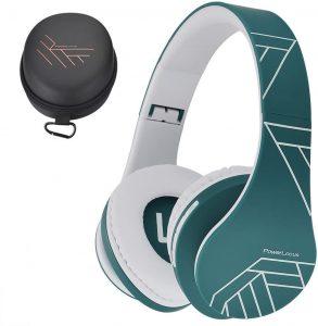 PowerLocus Bluetooth Over-Ear Foldable Headphones
