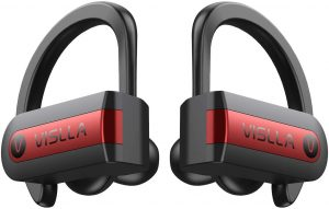 Vislla Sweatproof Wireless Earbuds